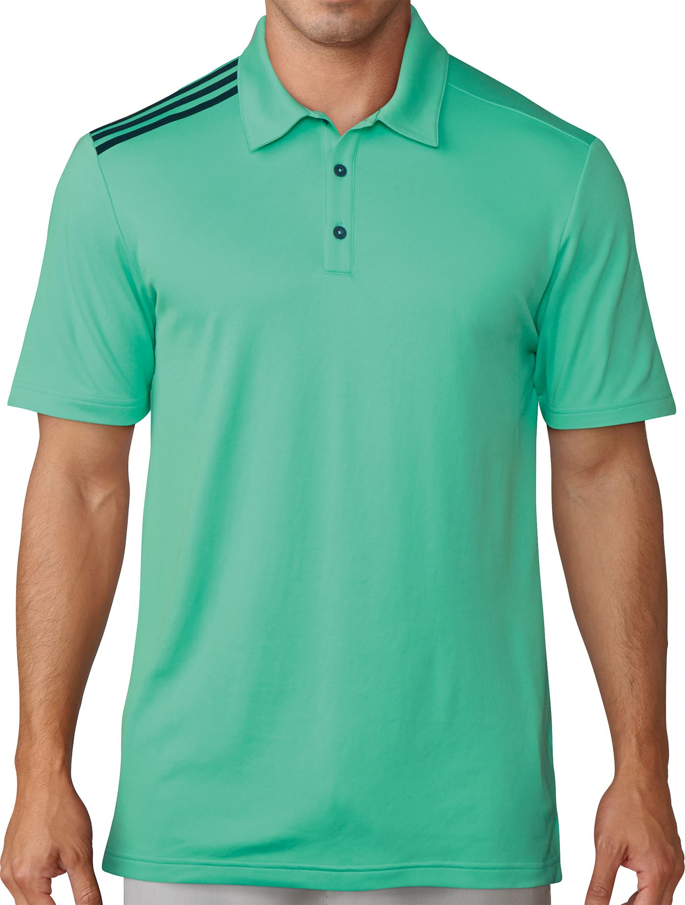 adidas Men's 3-Stripe Golf Polo