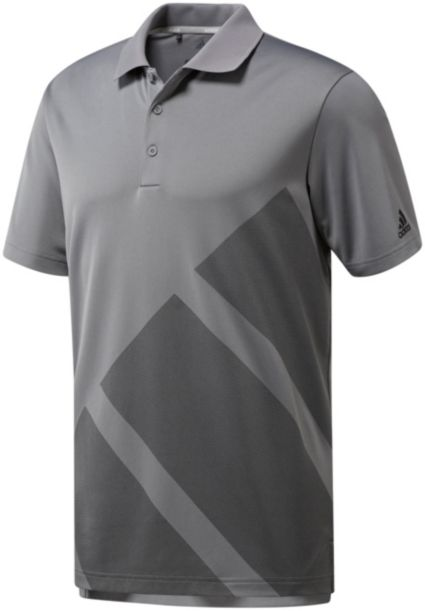 adidas Men's 3 Stripes Golf Polo