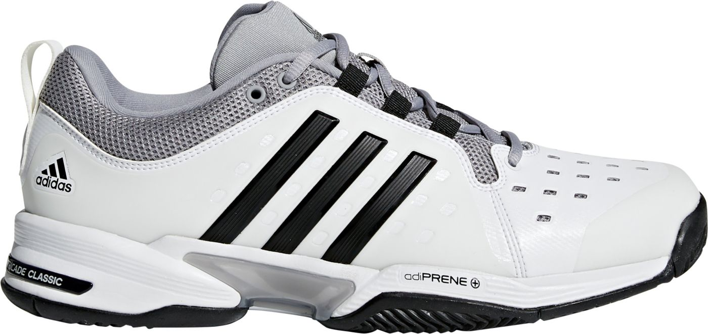 adidas Men's Barricade Classic Tennis Shoes
