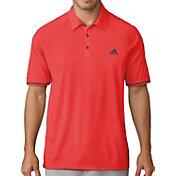 adidas Men's climacool Jacquard Raglan Golf Polo