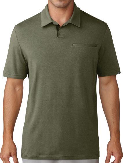 adidas Men's Adicross Johnny Collar Golf Polo