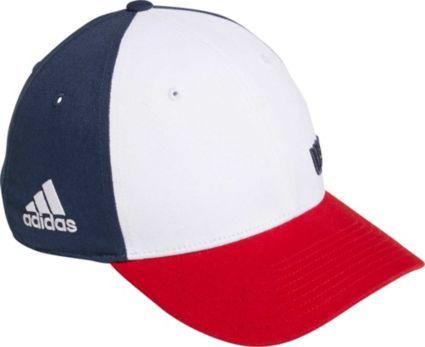 adidas Men s Colorblock Crestable USA Golf Hat  0d3aa60d16a