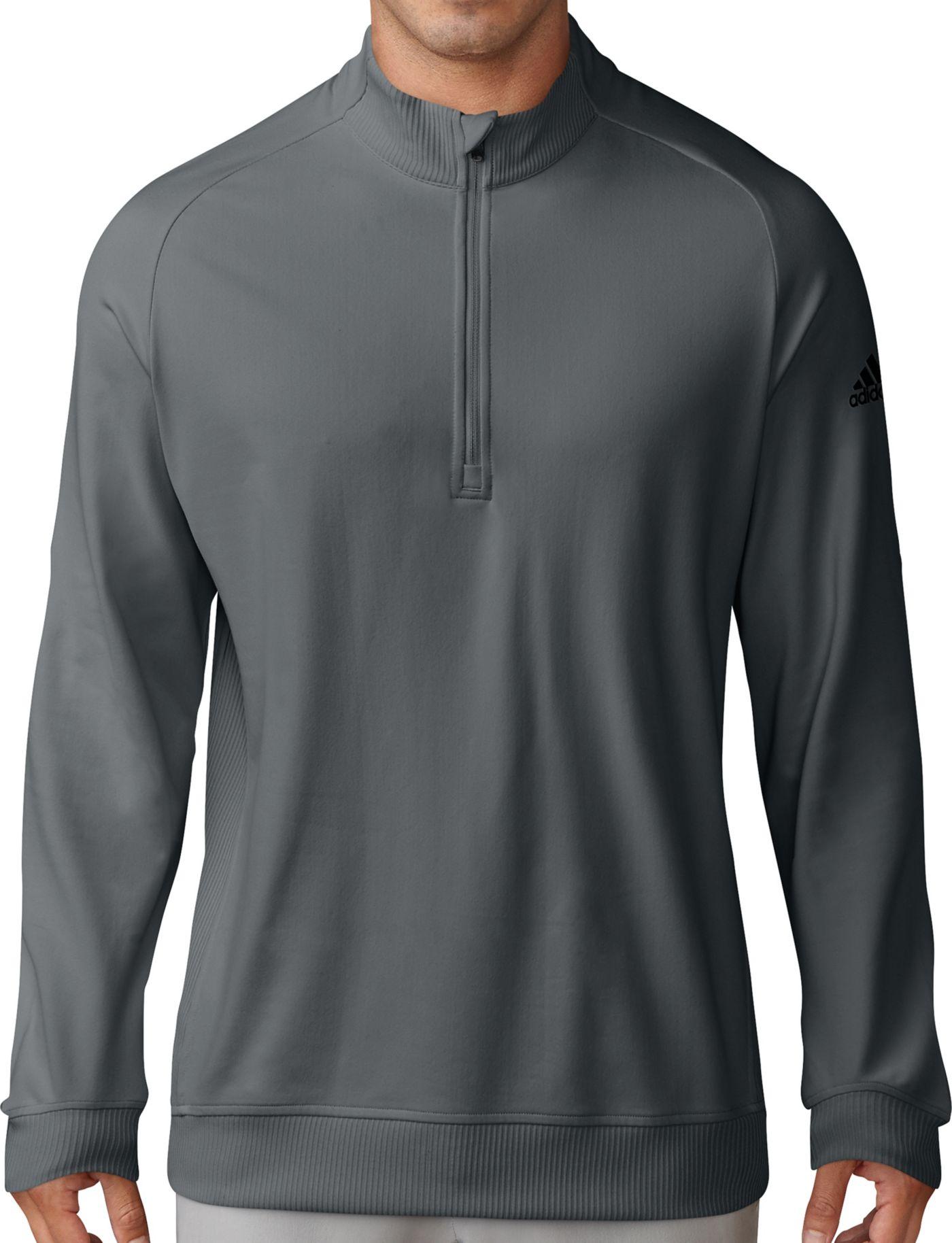 adidas Men's Classic Club Quarter-Zip Golf Pullover