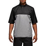 adidas Men's Climastorm Provisional Short Sleeve Rain Golf Pullover