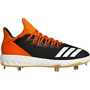adidas Men's Icon 4 Gum Metal Baseball Cleats