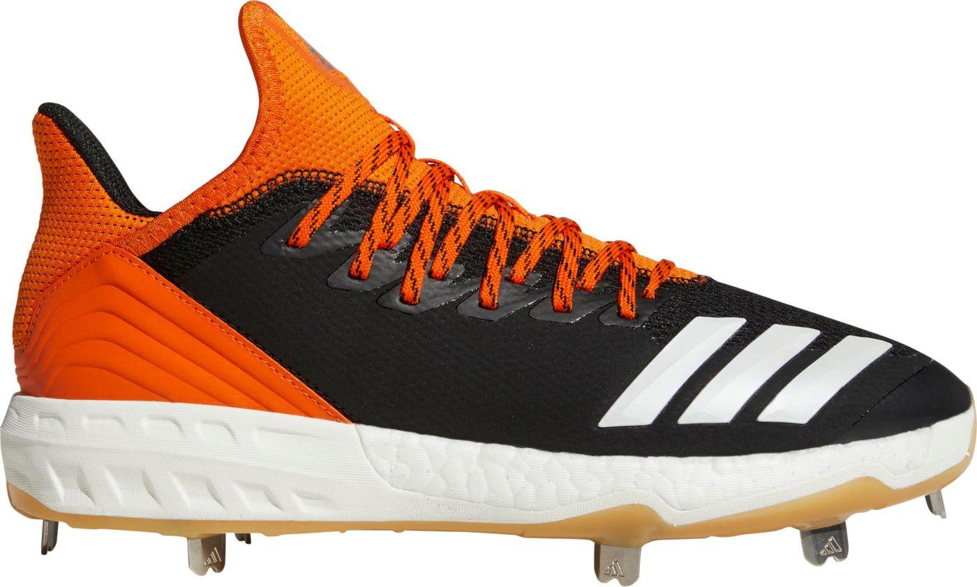 adidas Men's Icon 4 Gum Metal Baseball Cleats