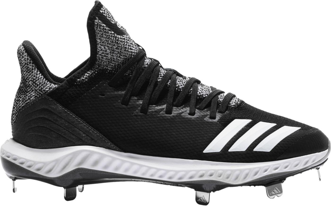 adidas Men's Icon Bounce Hybrid Metal Baseball Cleats