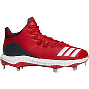 adidas Men's Icon Bounce Mid Metal Baseball Cleats