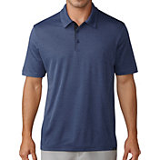 adidas Men's Adicross No Show Pique Golf Polo