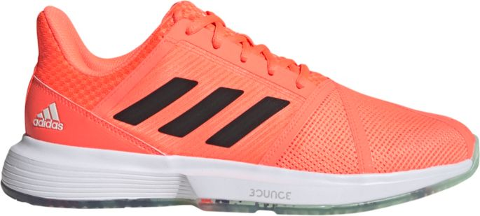 adidas CourtJam Bounce Shoes Orange   adidas US