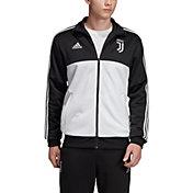 adidas Men's Juventus 3-stripe Black Track Jacket