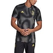 adidas Men's Juventus Home Black Prematch Top