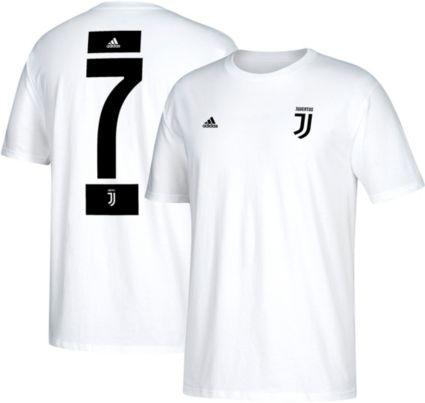 a7e953f31 adidas Men s Juventus Cristiano Ronaldo  7 White Player T-Shirt ...