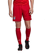 adidas Men's Bayern Munich '19 Red Stadium Home Replica Shorts