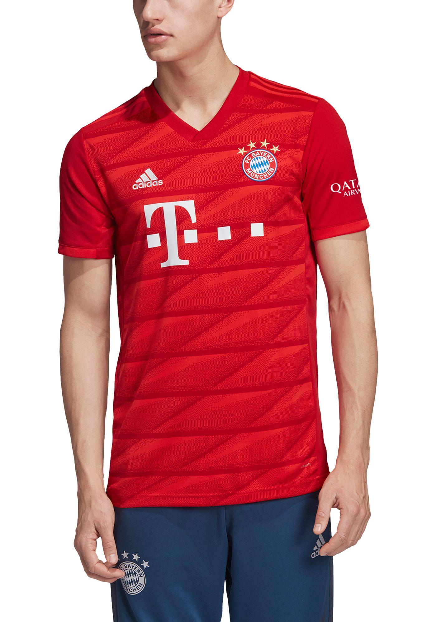 adidas Men's Bayern Munich '19 Stadium Home Replica Jersey