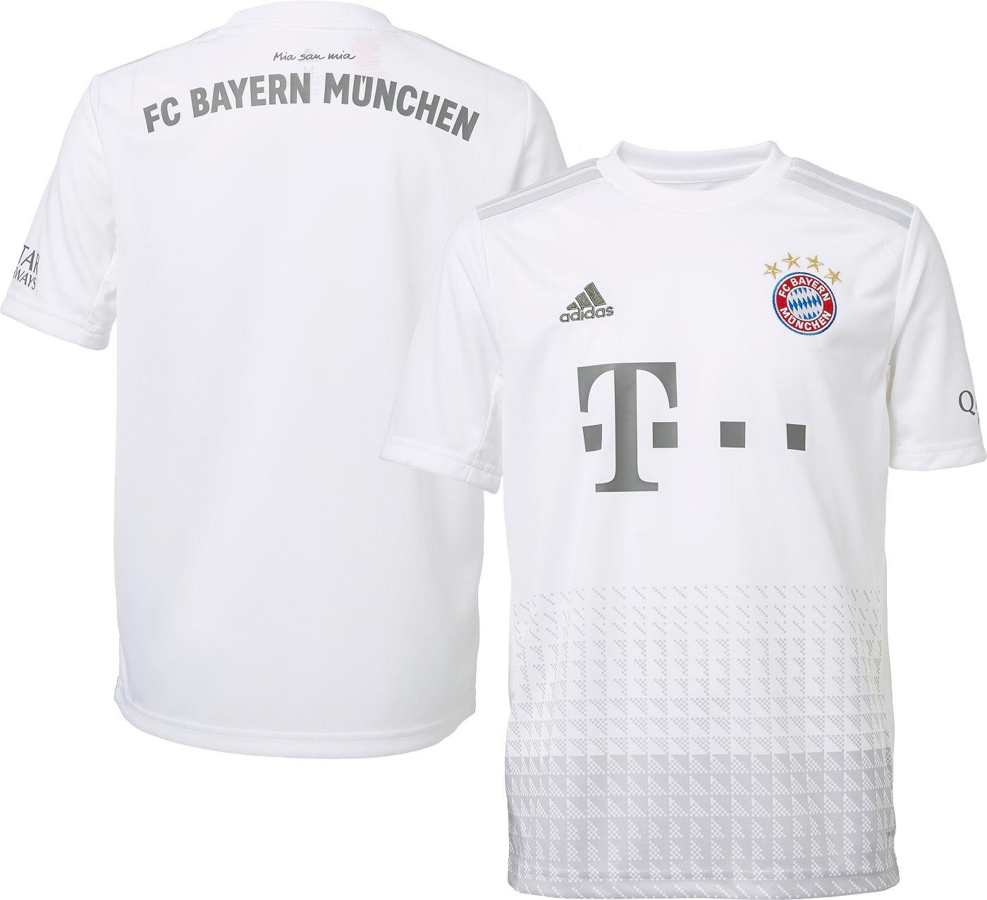 adidas Men's Bayern Munich '19 Stadium Away Replica Jersey
