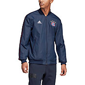 adidas Men's Bayern Munich Anthem Navy Jacket