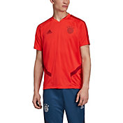 adidas Men's Bayern Munich '19 Red Training Jersey