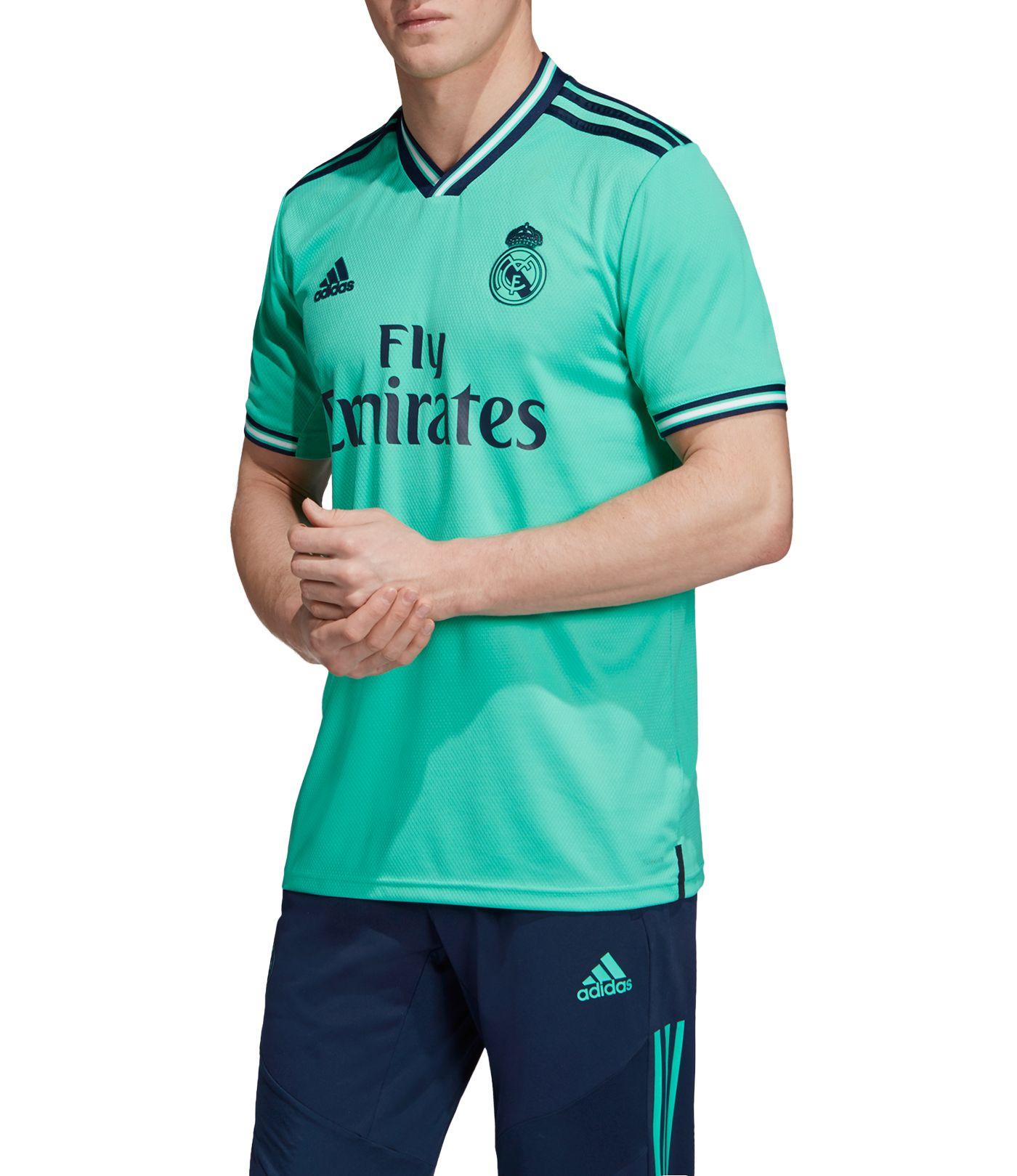 adidas Men's Real Madrid '19 Stadium Third Replica Jersey
