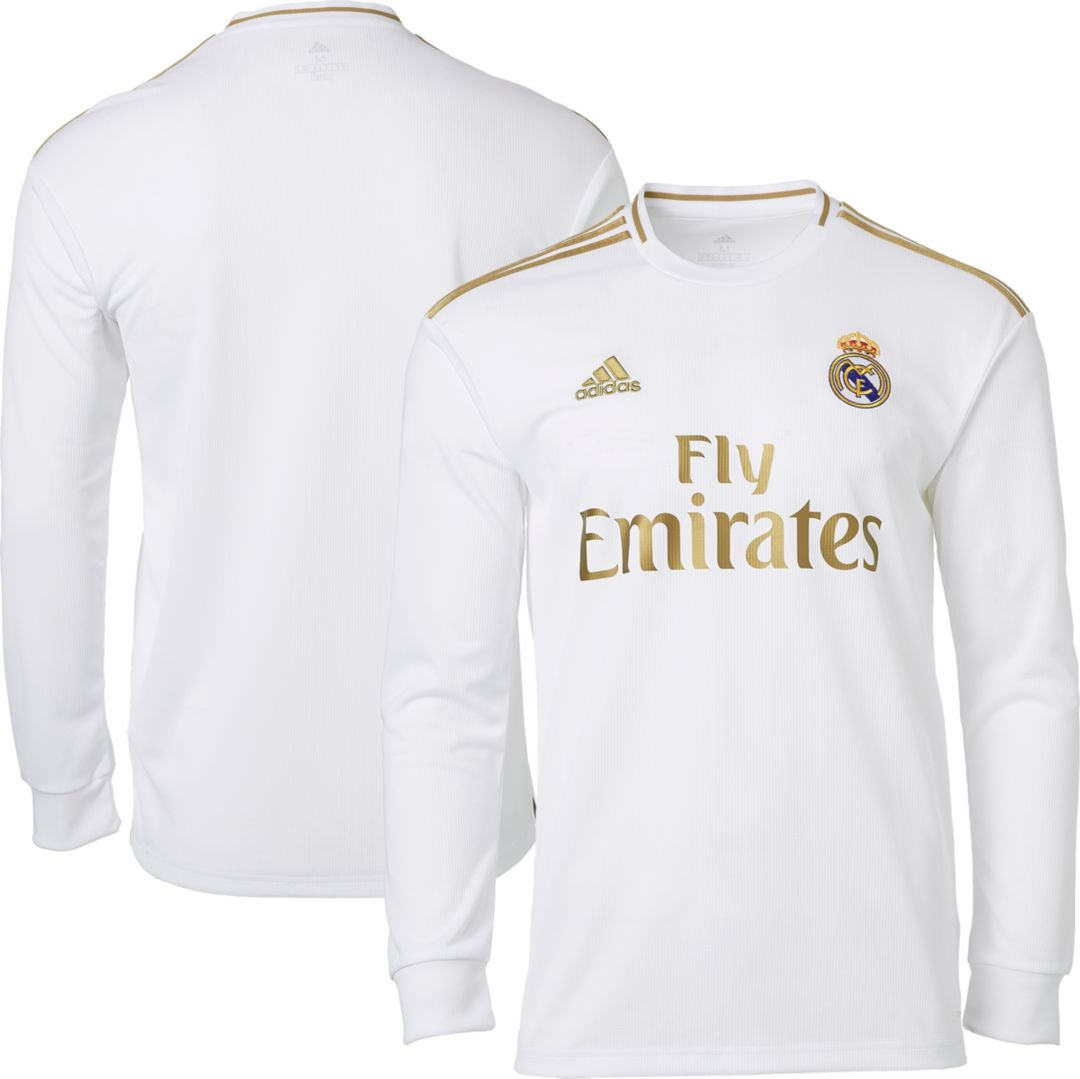 best cheap e0bbb 72112 adidas Men's Real Madrid '19 Stadium Home Replica Jersey