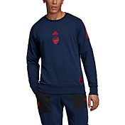 adidas Men's Arsenal SSCP Navy Crew Neck Sweatshirt