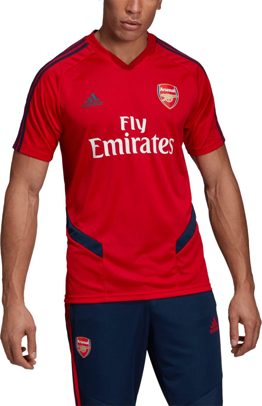 big sale 17f88 1850e adidas Men's Arsenal '19 Red Training Jersey