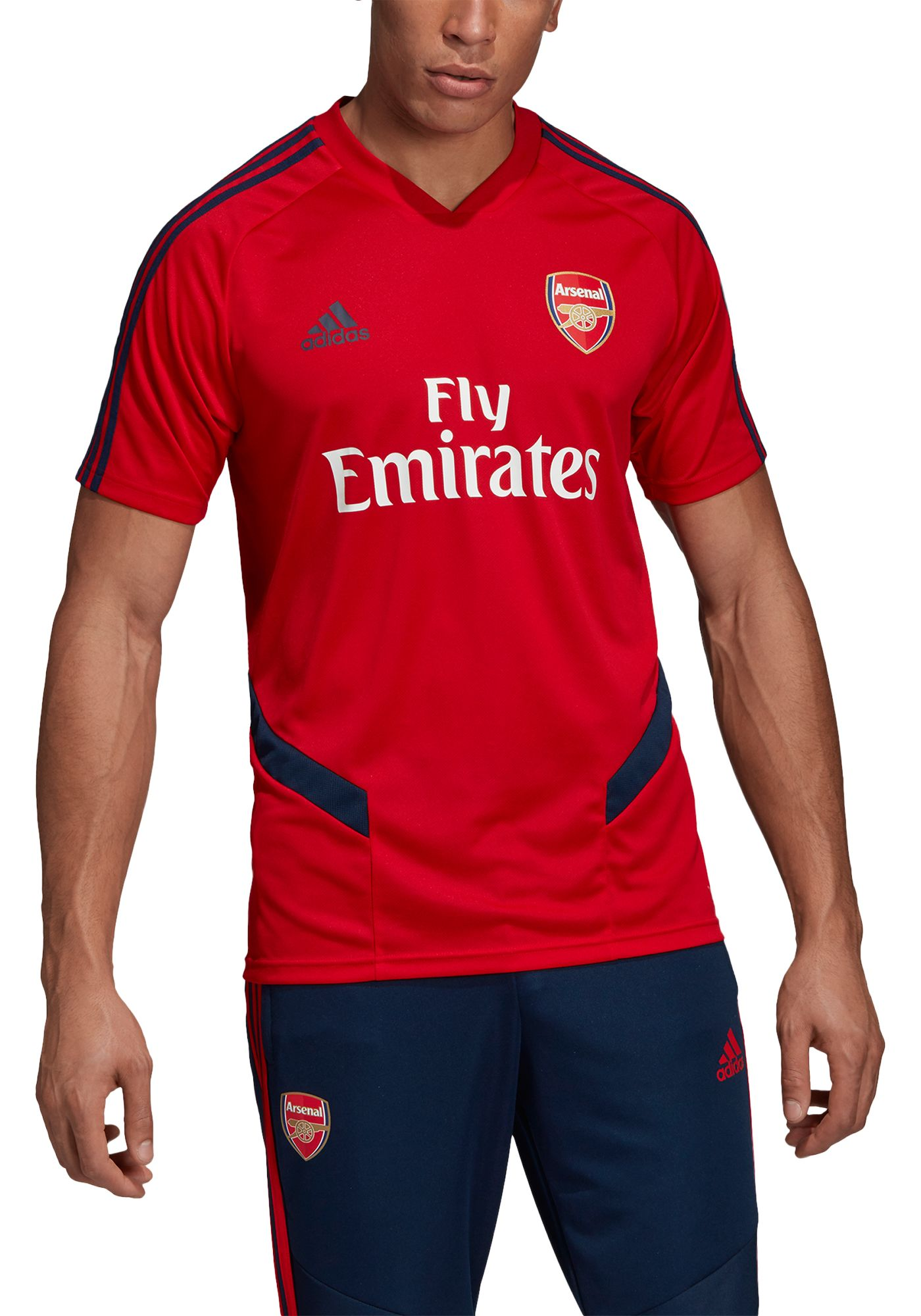 adidas Men's Arsenal '19 Red Training Jersey