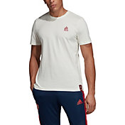 adidas Men's Arsenal DNA Graphic White T-Shirt