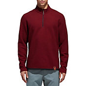 adidas Men's Adicross Textured Fleece Golf ¼ Zip