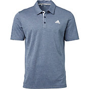 adidas Men's Advantage Novelty Heather Golf Polo