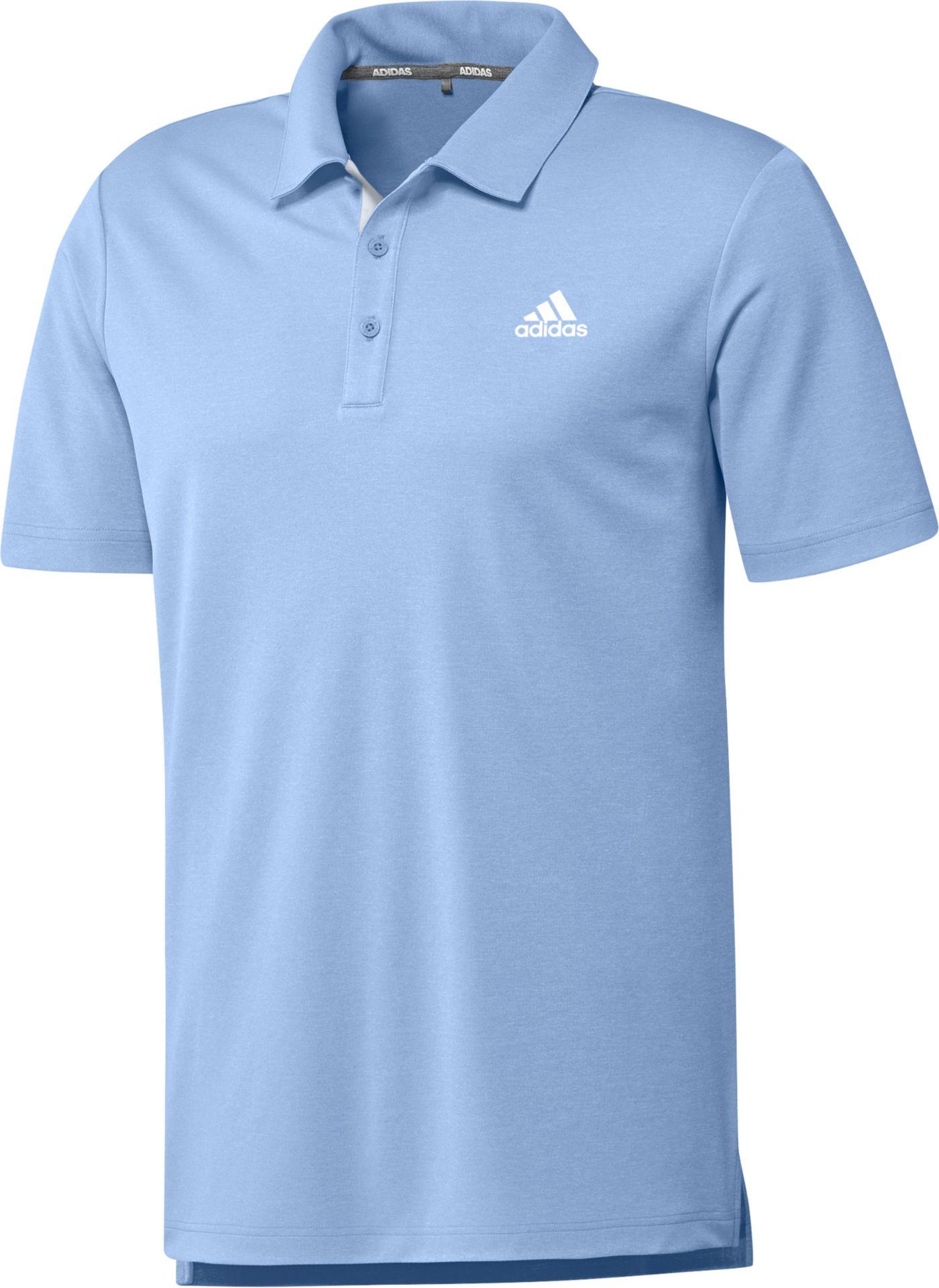 adidas Men's Drive Novelty Heather Golf Polo