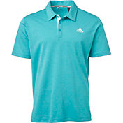 adidas Men's Drive Novelty Heather Golf Polo