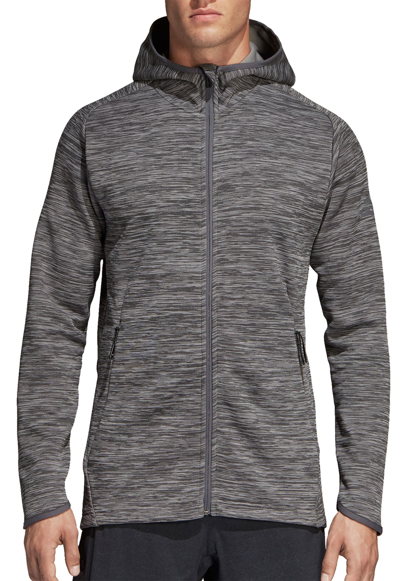 adidas Men's FreeLift Climaheat Full Zip Hoodie