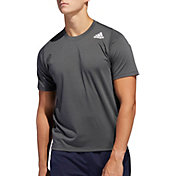 adidas Men's FreeLift Sport Prime Lite T-Shirt in Grey