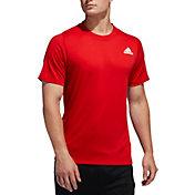 adidas Men's FreeLift Sport T-Shirt in Scarlet