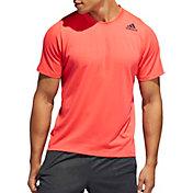 adidas Men's FreeLift Sport Prime Lite T-Shirt in Shock Red