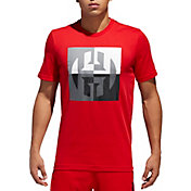 adidas Men's Harden Logo Graphic Basketball T-Shirt