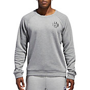 adidas Men's Harden Basketball Crewneck Sweatshirt
