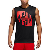 adidas Men's Harden Jersey Sleeveless Shirt