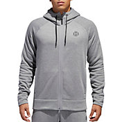 adidas Men's Harden Shooter Full Zip Hoodie