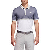 adidas Men's Heather Colorblock Golf Polo