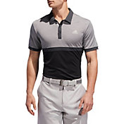 adidas Men's Drive Heather Colorblock Golf Polo