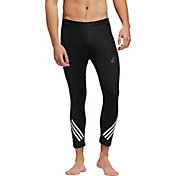 adidas Men's Alphaskin Sport ¾ Length Tights in Black/White