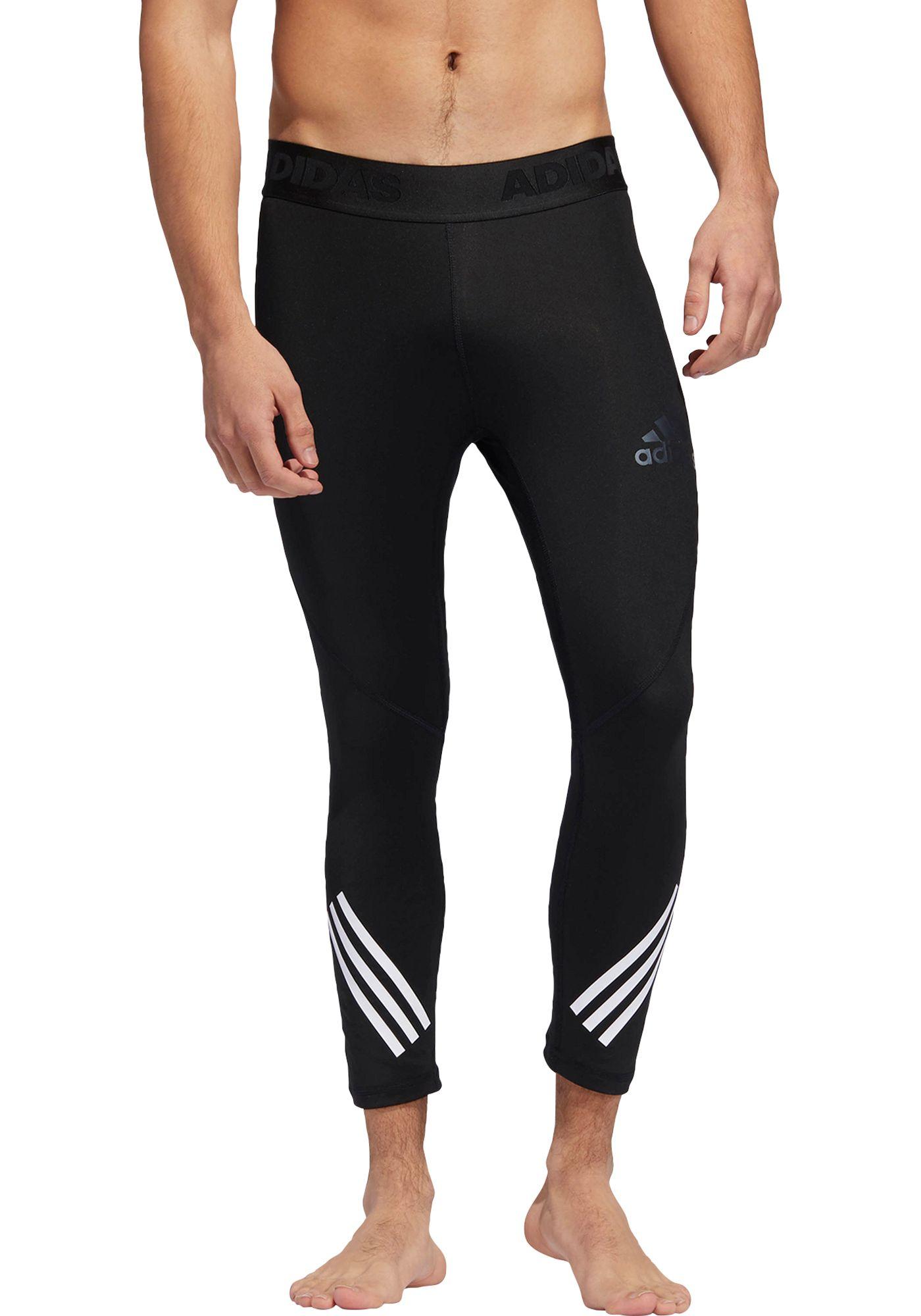adidas Men's Alphaskin Sport ¾ Length Tights