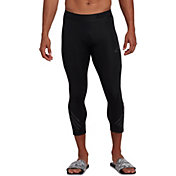 adidas Men's Alphaskin Sport ¾ Length Tights in Black