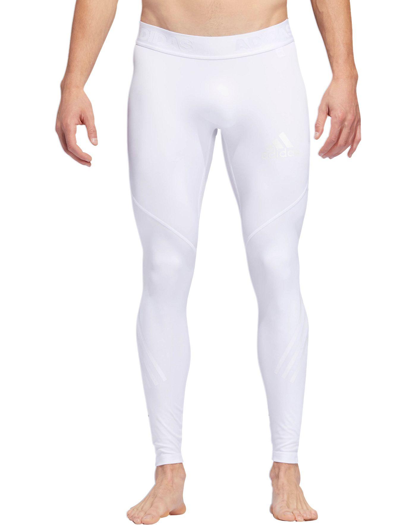 adidas Men's Alphaskin Sport 3-Stripes Tights