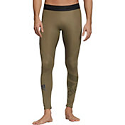 adidas Men's Alphaskin Sport Badge of Sport Long Tights