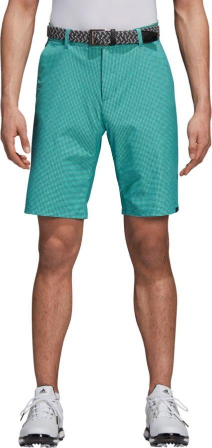 adidas Men's Ultimate365 Gingham Golf Shorts