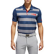 adidas Men's Ultimate365 USA Rugby Golf Polo