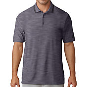 adidas Men's Ultimate365 Striped Collar Golf Polo